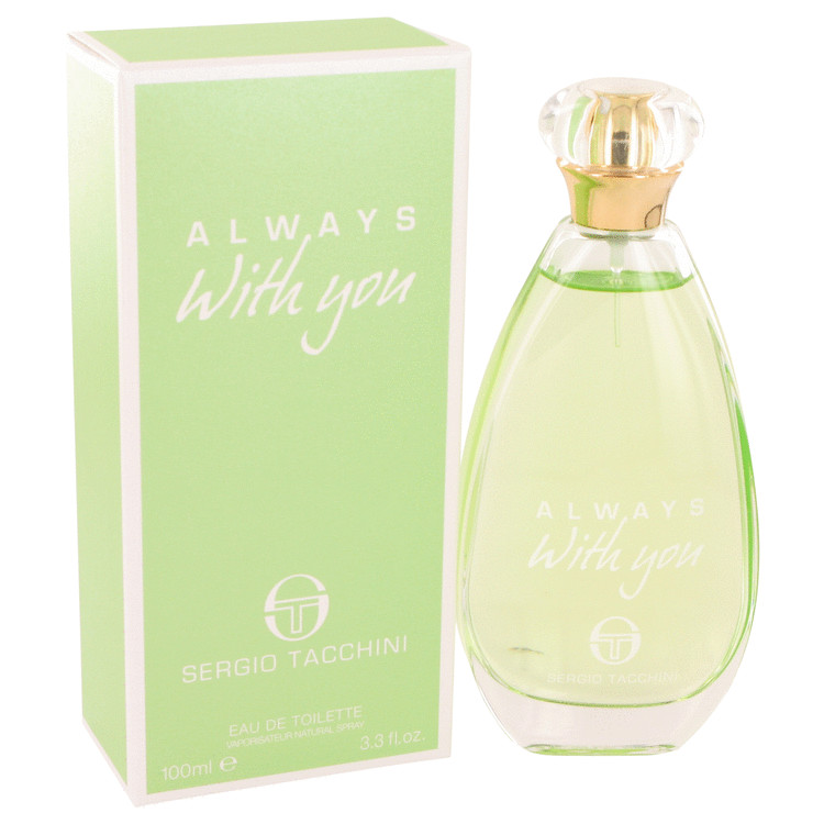 Sergio Tacchini Always With You by Sergio Tacchini 3.3 oz Eau De Toilette Spray for Women