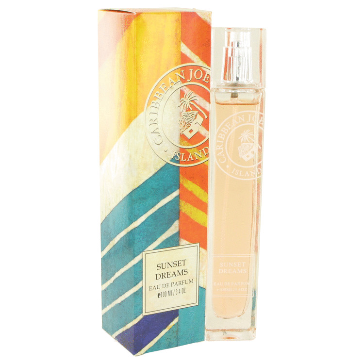 Sunset Dreams by Caribbean Joe 3.4 oz Eau De Parfum Spray for Women