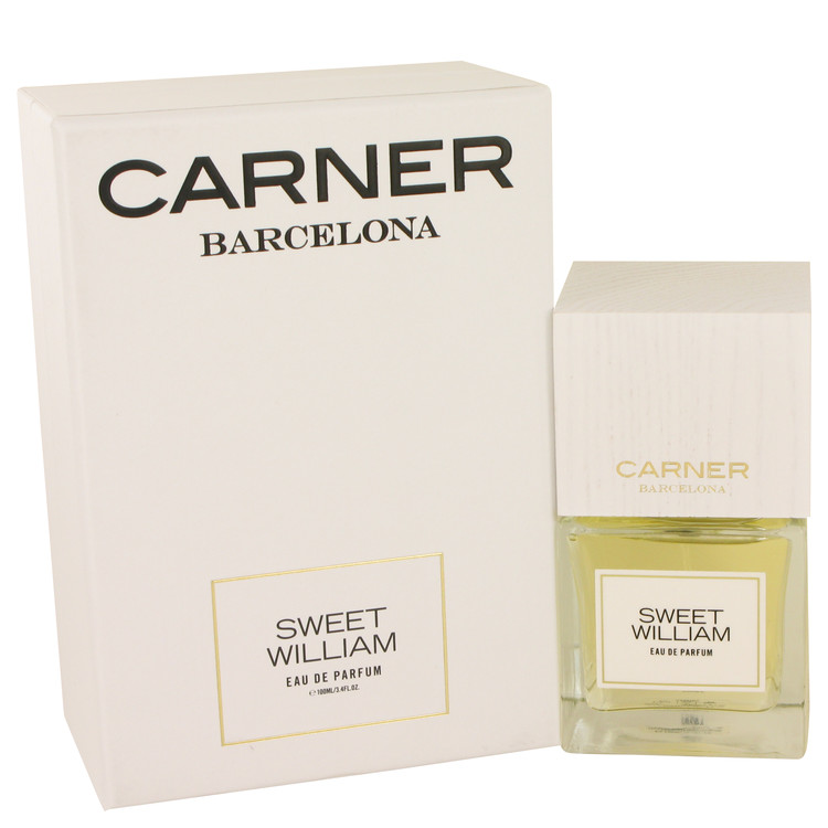 Sweet William by Carner Barcelona 3.4 oz Eau De Parfum Spray for Women