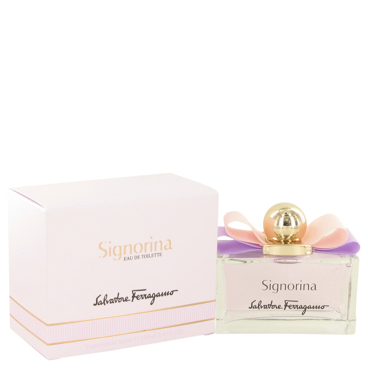 Signorina by Salvatore Ferragamo Eau De Toilette Spray 3.4 oz for Women