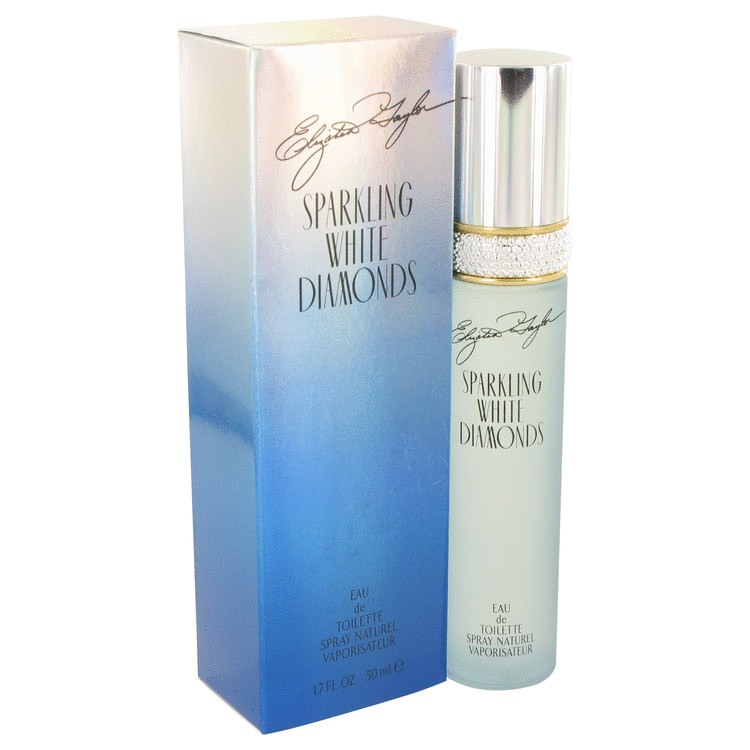 Sparkling White Diamonds by Elizabeth Taylor Eau De Toilette Spray 1.7 oz for Women