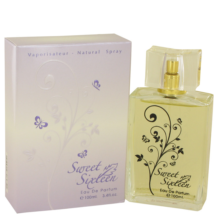 Sweet Sixteen Aroma Fragrance by Aroma Fragrance 3.4 oz Eau De Parfum Spray for Women