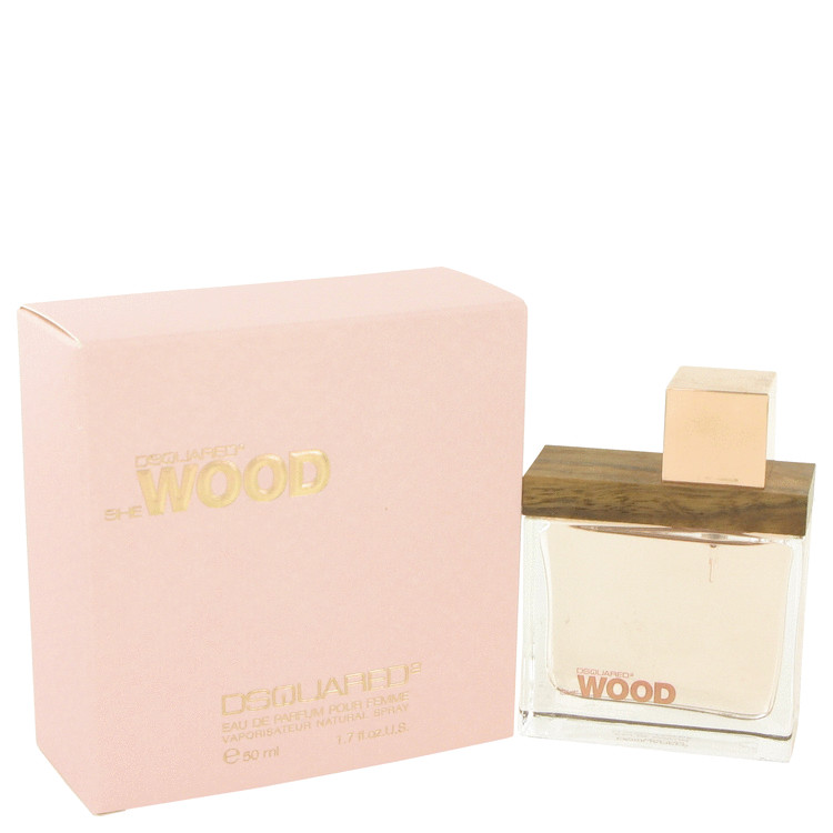 She Wood by Dsquared2 Eau De Parfum spray 1.7 oz for Women