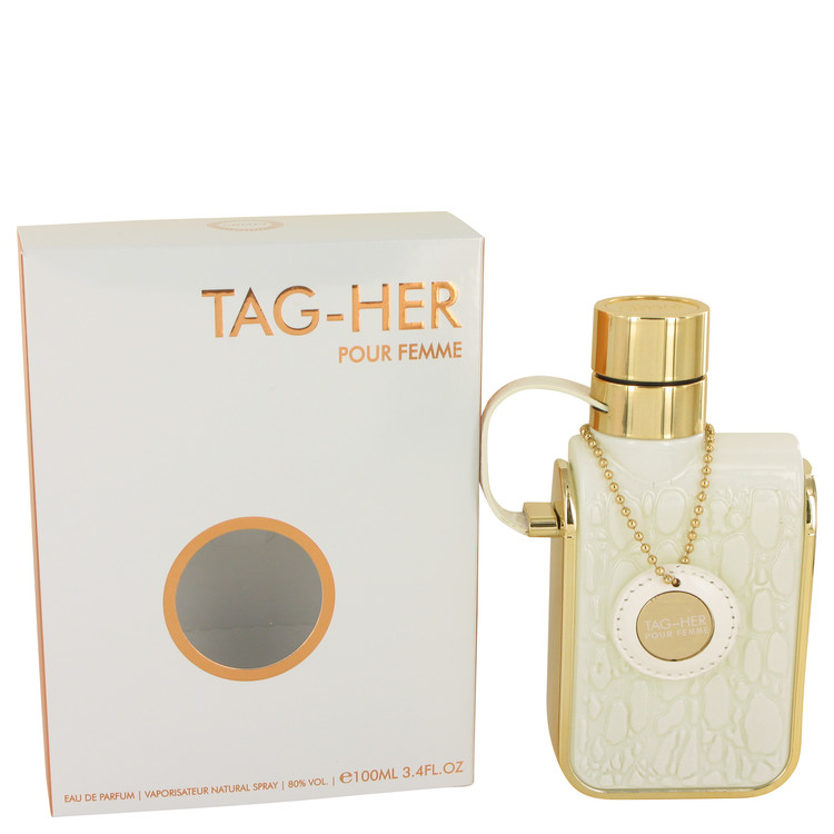 Armaf Tag Her by Armaf 3.4 oz Eau De Parfum Spray for Women
