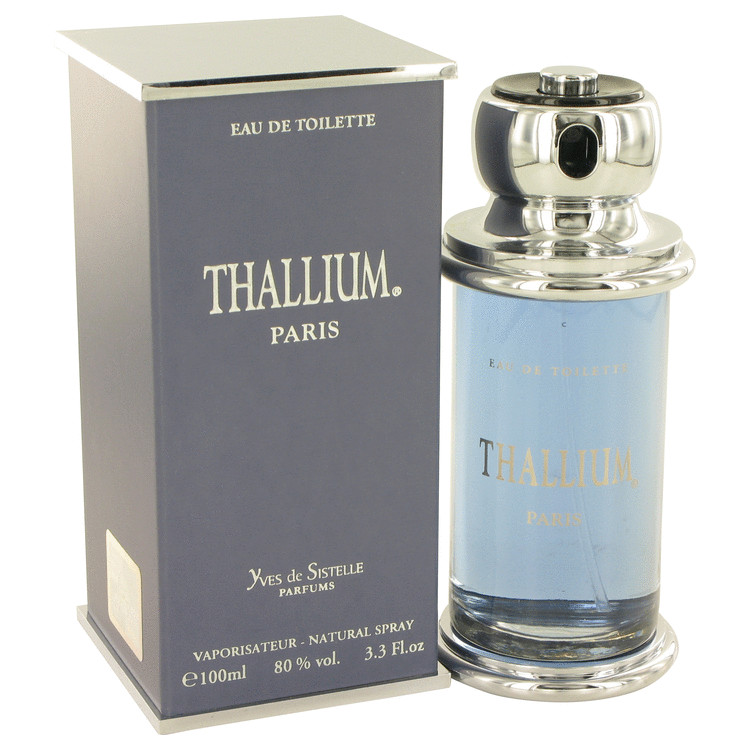 Thallium by Parfums Jacques Evard 3.3 oz Eau De Toilette Spray for Men