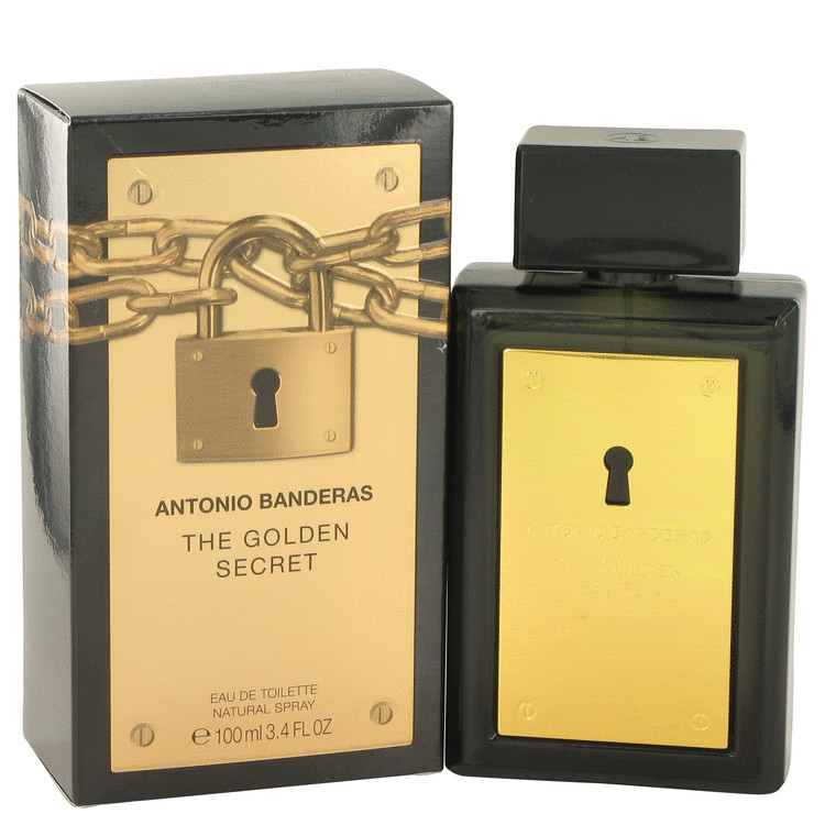 The Golden Secret by Antonio Banderas 3.4 oz Eau De Toilette Spray for Men