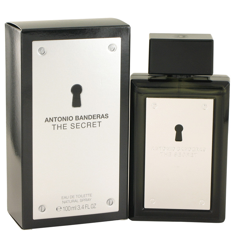 The Secret by Antonio Banderas 3.4 oz Eau De Toilette Spray for Men