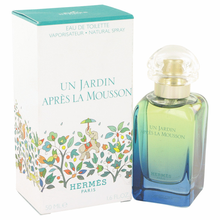 Un Jardin Apres La Mousson by Hermes 1.7 oz Eau De Toilette Spray for Women