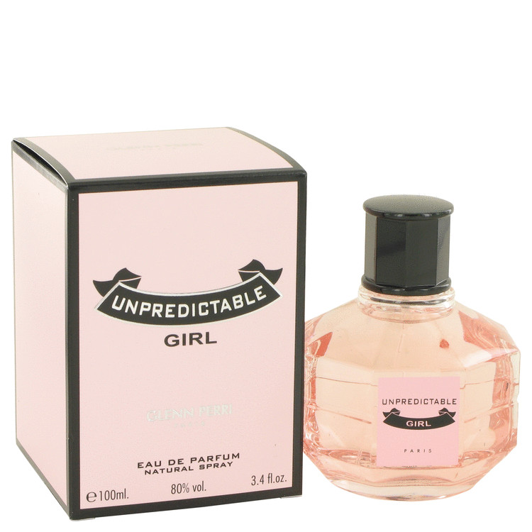 Unpredictable Girl by Glenn Perri 3.4 oz Eau De Parfum Spray for Women