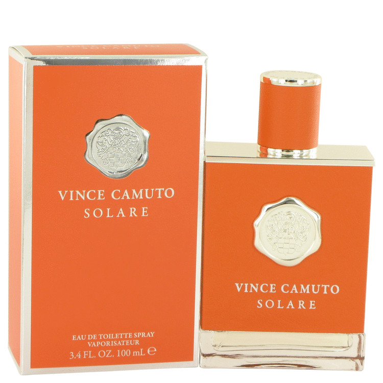 Vince Camuto Solare by Vince Camuto 3.4 oz Eau De Toilette Spray for Men