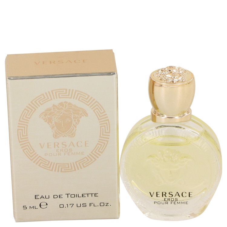 3959c74f87 Versace Eros by Versace 0.17 oz Mini EDT for Women