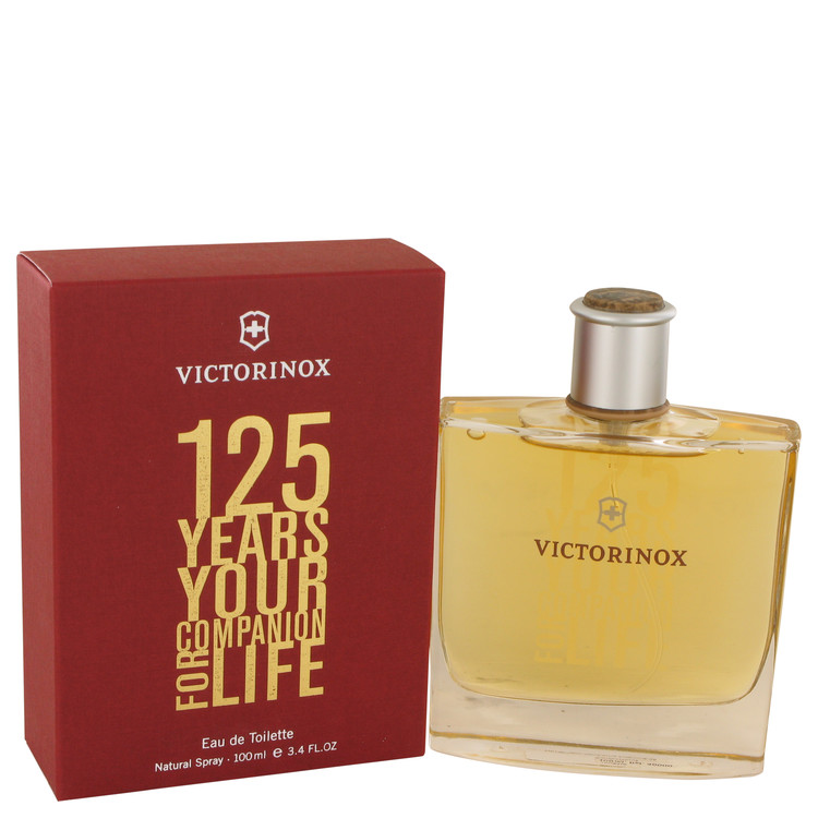 Victorinox 125 Years by Victorinox 3.4 oz Eau De Toilette Spray for Men