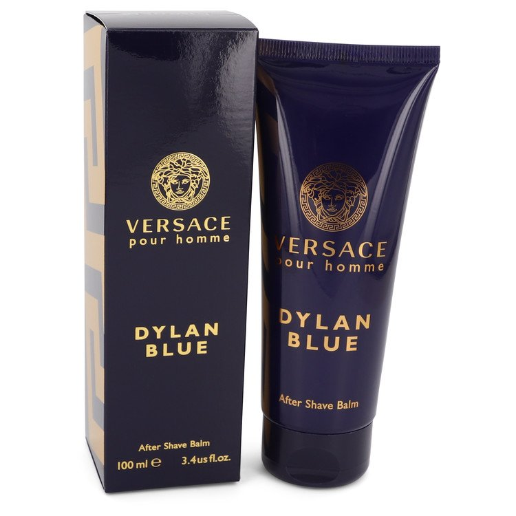 Versace Pour Homme Dylan Blue by Versace 3.4 oz After Shave Balm for Men