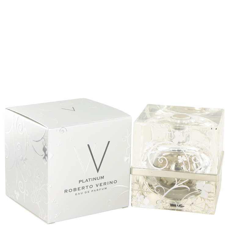V V Platinum by Roberto Verino 2.5 oz Eau De Parfum Spray for Women