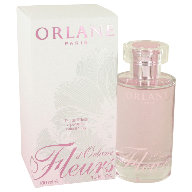 FLEURS D'ORLANE by Orlane Eau De Toilette Spray (New Packaging) 3.3 oz for Women