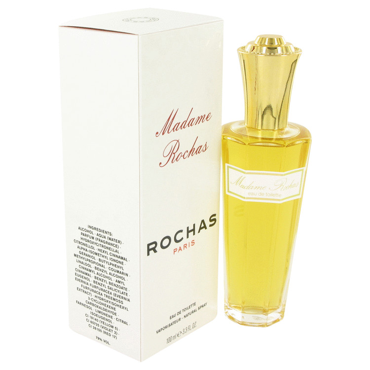 Madame Rochas by Rochas 3.4 oz Eau De Toilette Spray for Women