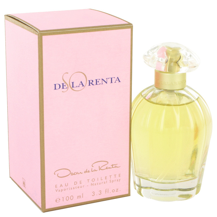 So De La Renta by Oscar de la Renta 3.4 oz Eau De Toilette Spray for Women