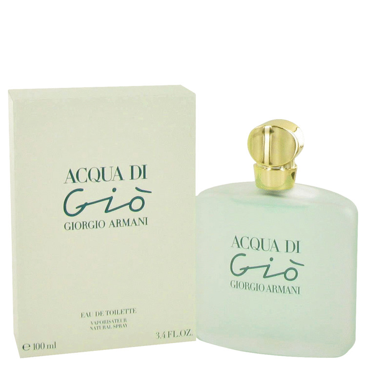 Acqua Di Gio by Giorgio Armani 3.3 oz Eau De Toilette Spray for Women