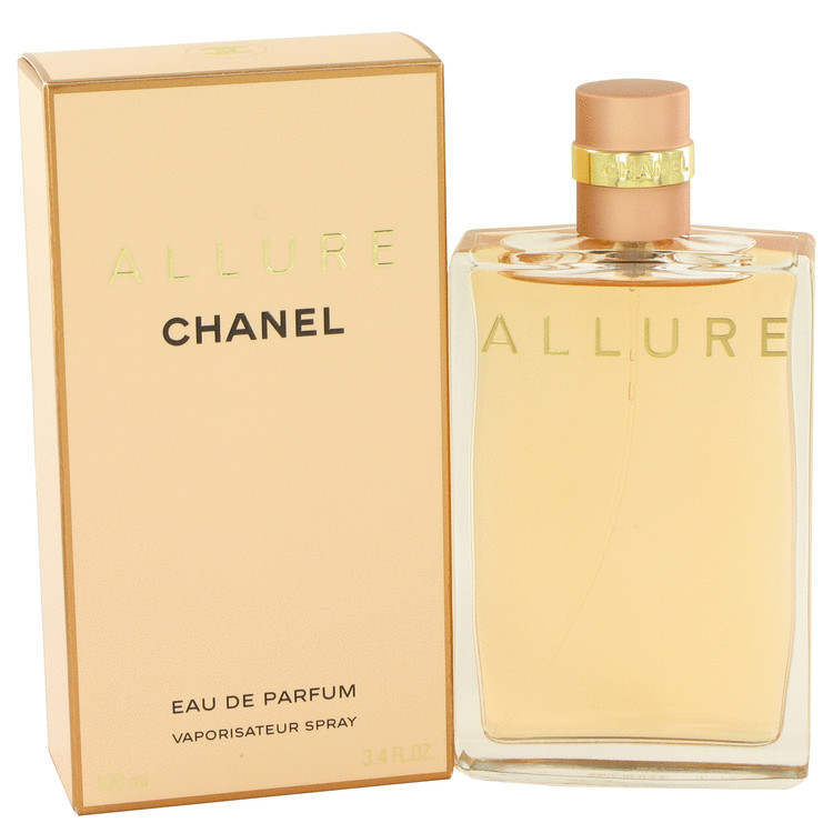 ALLURE by Chanel Eau De Parfum Spray 3.4 oz for Women