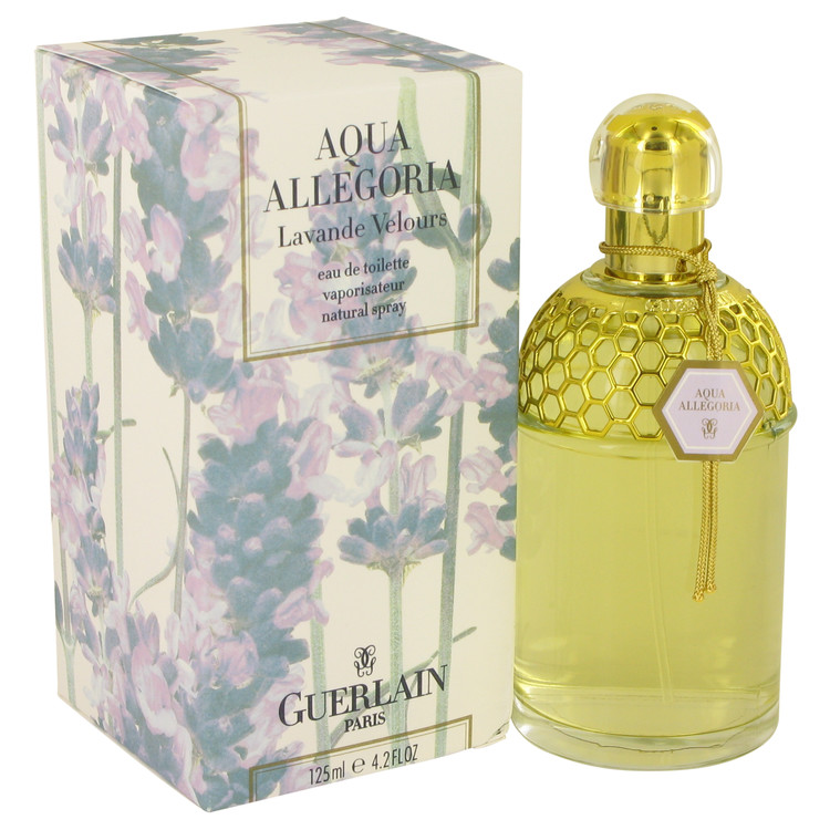 Aqua Allegoria Lavande Velours by Guerlain 4.2 oz Eau De Toilette Spray for Women