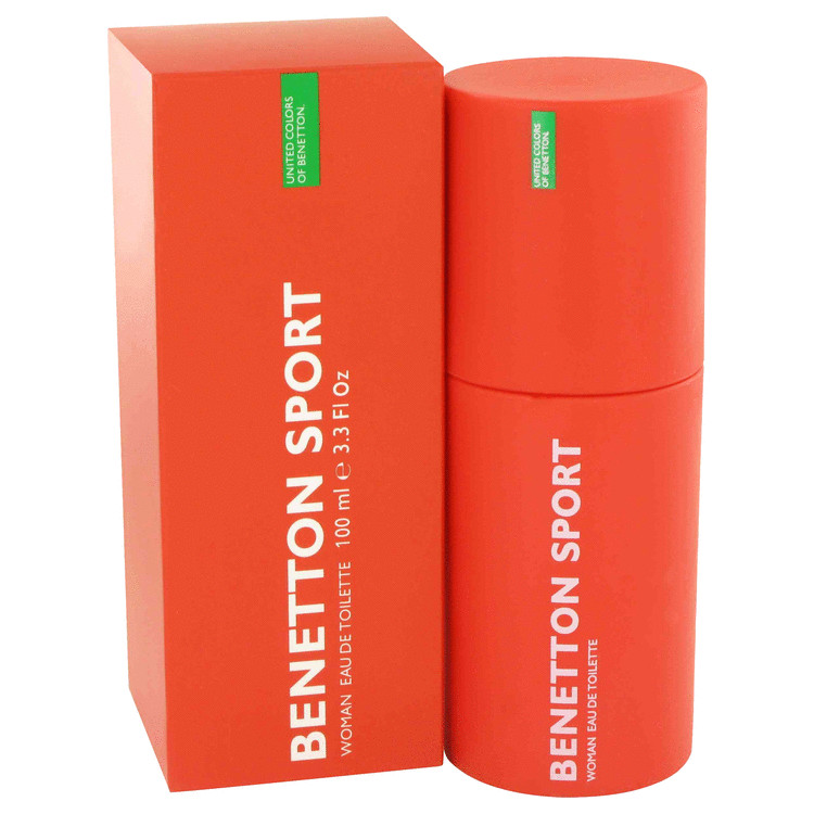 BENETTON SPORT by Benetton Eau De Toilette Spray 3.3 oz for Women