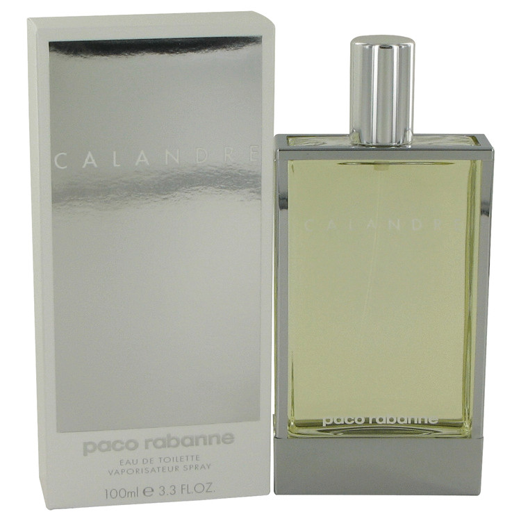 Calandre by Paco Rabanne 3.4 oz Eau De Toilette Spray for Women