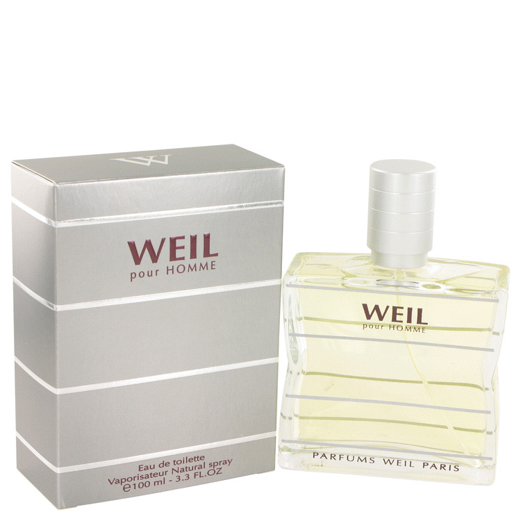 Weil Pour Homme by Weil 3.4 oz Eau De Toilette Spray for Men