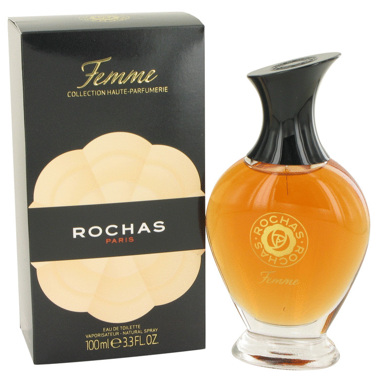Femme Rochas by Rochas 3.4 oz Eau De Toilette Spray for Women