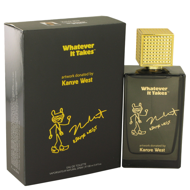 Whatever It Takes Kanye West by Whatever It Takes 3.4 oz Eau De Toilette Spray for Men