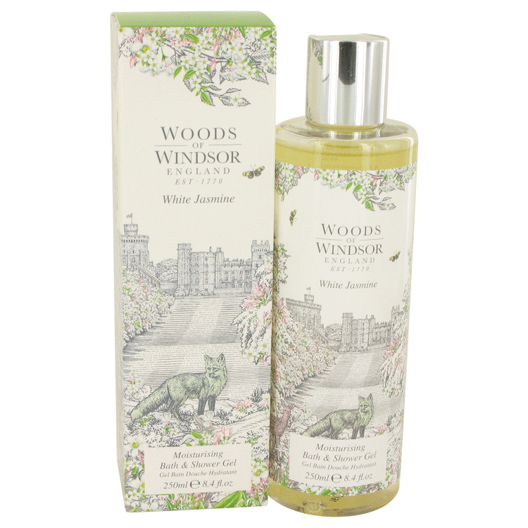 White Jasmine by Woods of Windsor 8.4 oz Shower Gel for Women