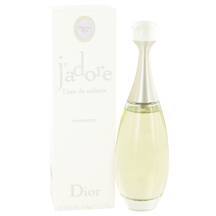 Jadore by Christian Dior 3.4 oz Eau De Toilette Spray for Women
