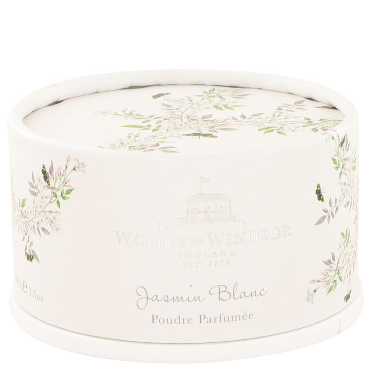 White Jasmine by Woods of Windsor Dusting Powder 3.5 oz for Women