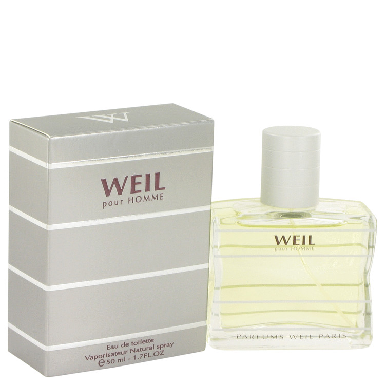 Weil Pour Homme by Weil 1.7 oz Eau De Toilette Spray for Men