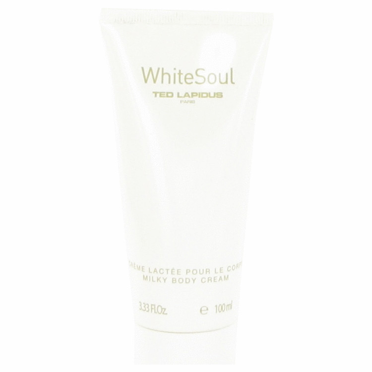 White Soul by Ted Lapidus 3.3 oz Body Cream for Women