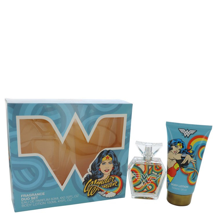 Wonder Woman by Marmol & Son 2 oz Eau De Parfum Spray + 5 oz Body Lotion for Women