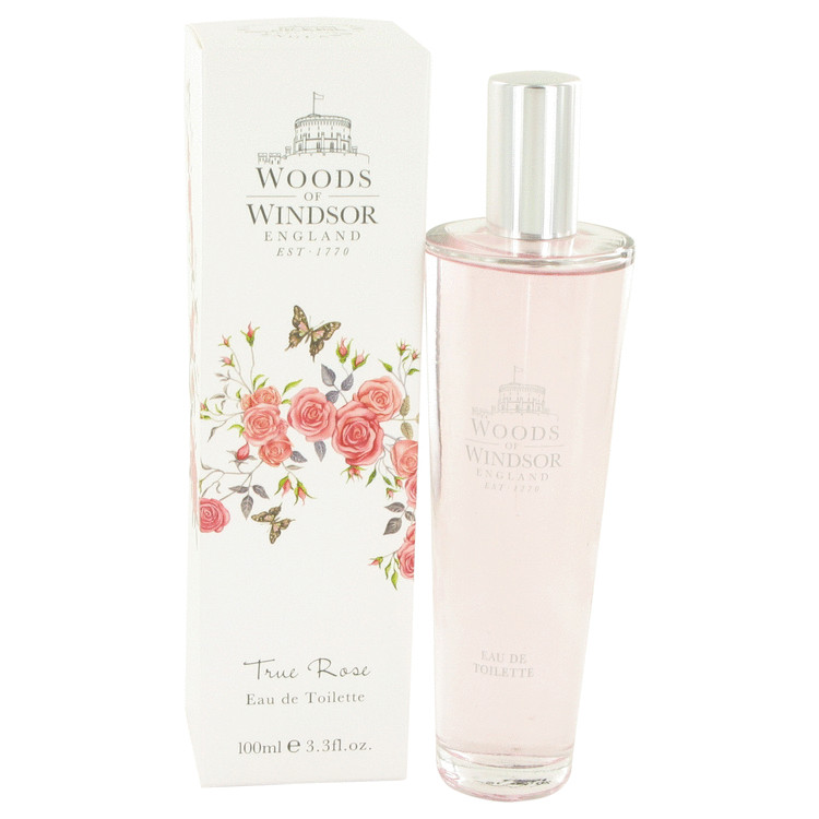 True Rose by Woods of Windsor Eau De Toilette Spray 3.3 oz for Women