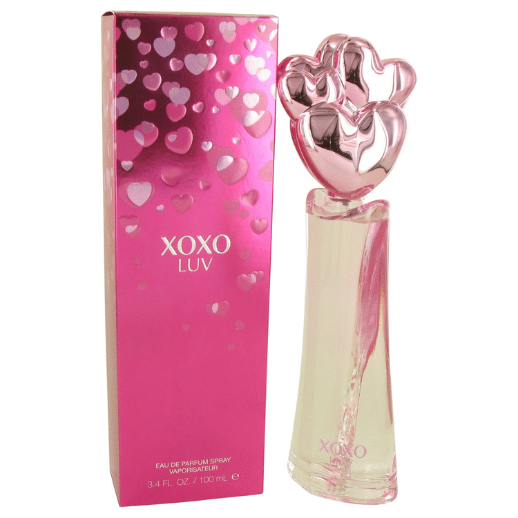 Xoxo Luv by Victory International 3.4 oz Eau De Parfum Spray for Women