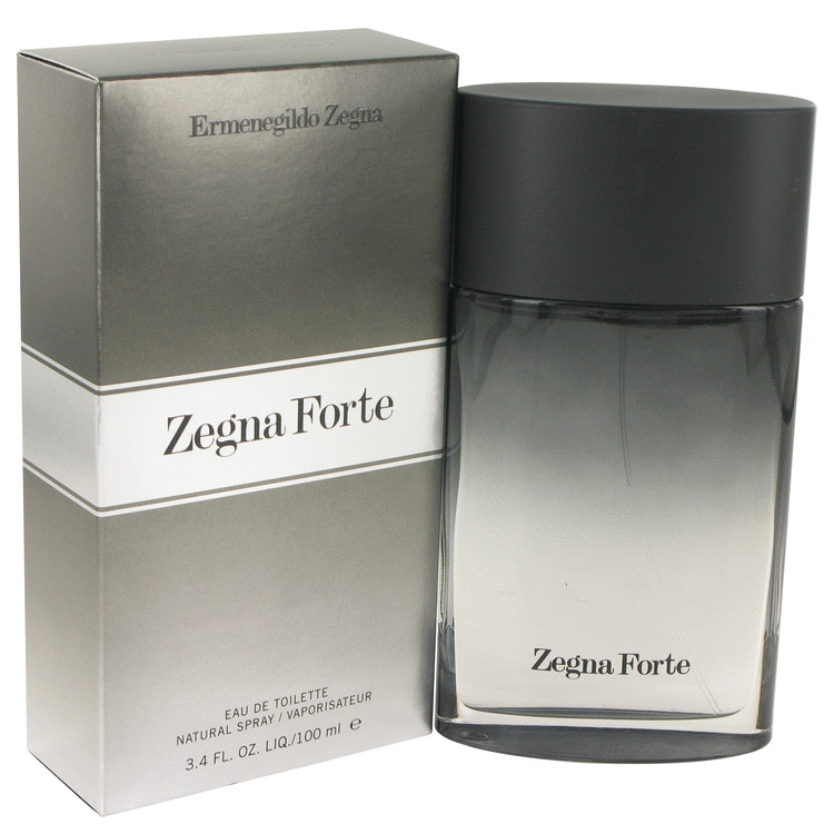Zegna Forte by Ermenegildo Zegna 3.4 oz Eau De Toilette Spray for Men