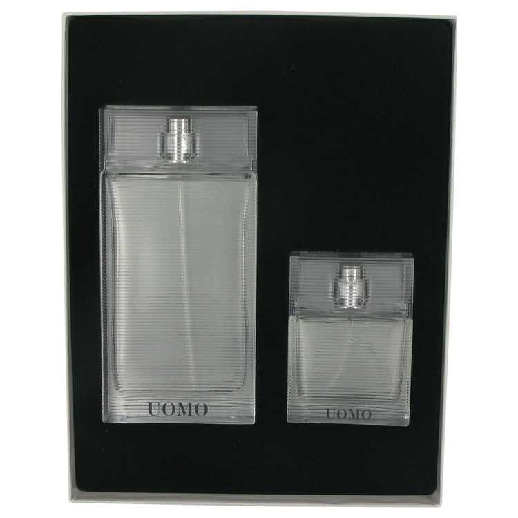Zegna Uomo by Ermenegildo Zegna 3.4 oz Eau De Toilette Spray + 1 oz Eau De Toilette Spray for Men