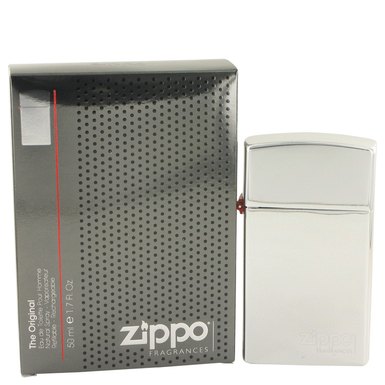 Zippo Original by Zippo 1.7 oz Eau De Toilette Spray Refillable for Men