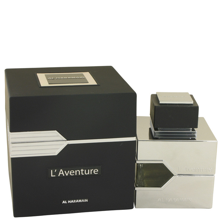 L'aventure by Al Haramain Eau De Parfum Spray 3.3 oz for Men