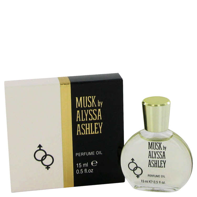 Alyssa Ashley Musk by Houbigant Perfumed Oil .5 oz for Women