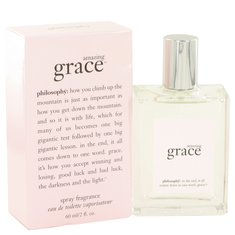 Amazing Grace by Philosophy Eau De Toilette Spray 2 oz for Women