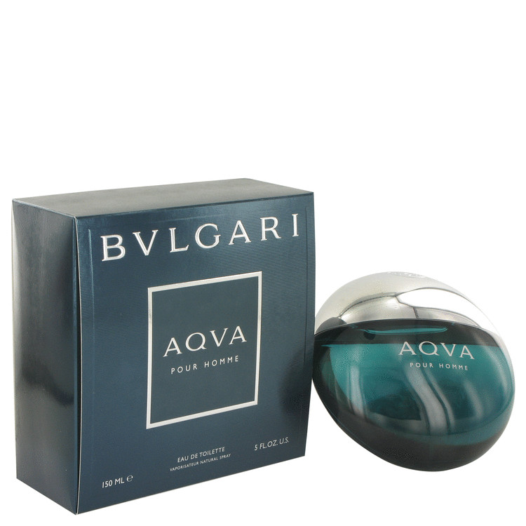 AQUA POUR HOMME by Bvlgari Eau De Toilette Spray 5 oz for Men