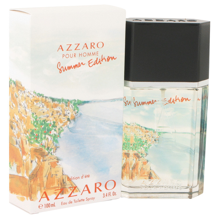 Azzaro Summer by Loris Azzaro Eau De Toilette Spray 3.4 oz for Men