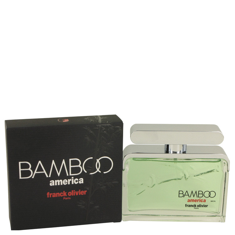Bamboo America by Franck Olivier Eau De Toilette Spray 2.5 oz for Men