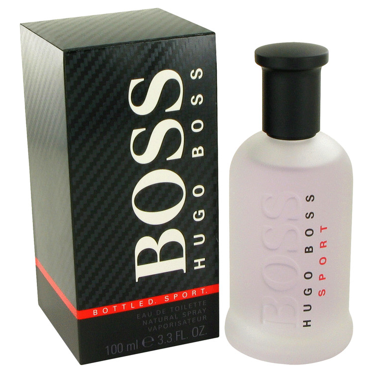 Boss Bottled Sport by Hugo Boss Eau De Toilette Spray 3.3 oz for Men