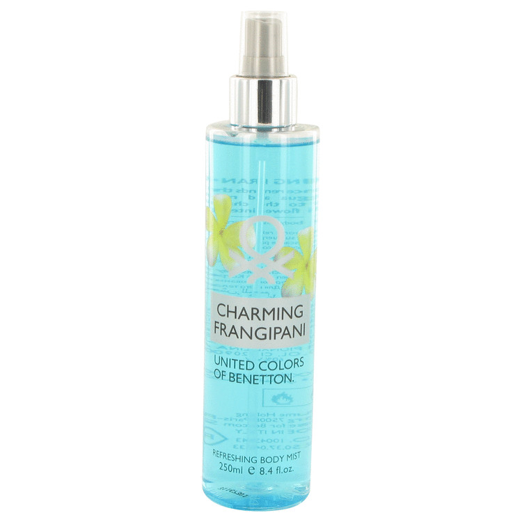 Benetton Charming Frangipani by Benetton Body Mist 8.4 oz for Women