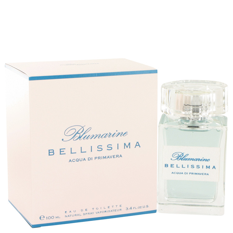 Blumarine Bellissima Acqua Di Primavera by Blumarine Parfums Eau De Toilette Spray 3.4 oz for Women