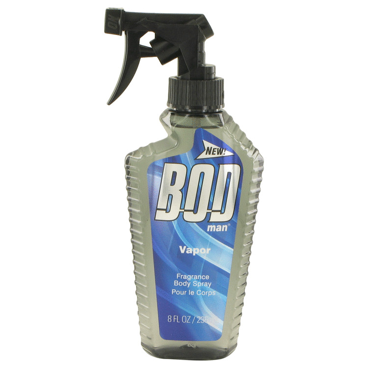 Bod Man Vapor by Parfums De Coeur Body Spray 8 oz for Men